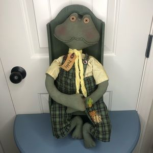"""""""Paddy"""" The Frog Decor"""